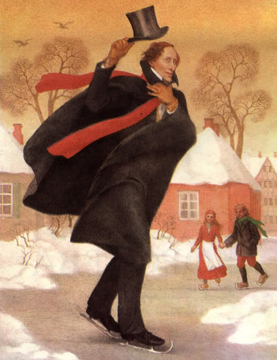 Hans Christian Andersen by Anastasia Arkhipova
