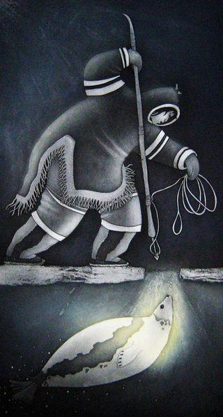 The Cycle of Life by Germaine Arnatauyck