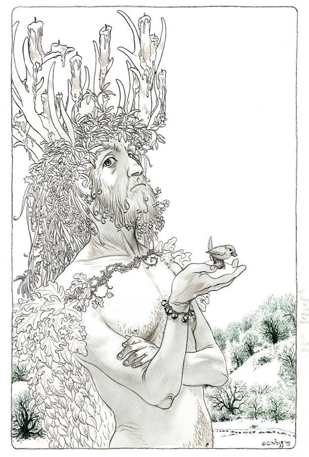 The Winter King by Charles Vess