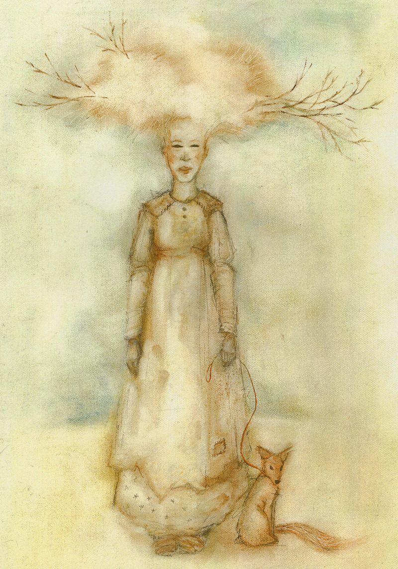 Sycamore Fairy and Friend by Terri Windling