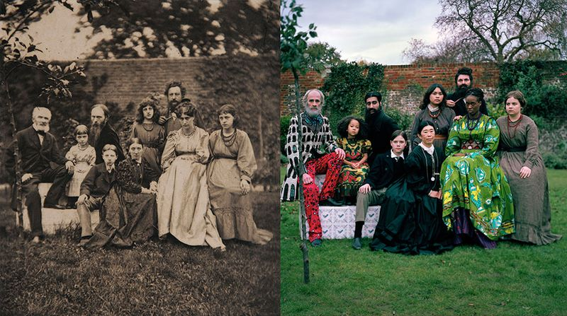 From The William Morris Family Album re-imagined by Yinka Shonibare.jpg