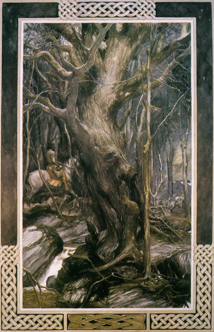 The Mabiongion illustrated by Alan Lee