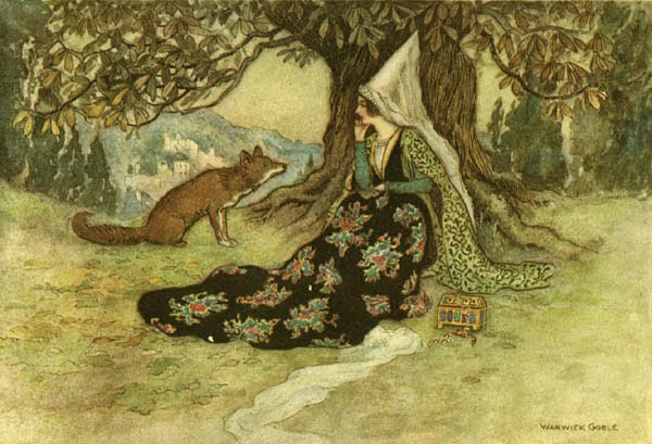 The Princess and the Fox by Warwick Goble