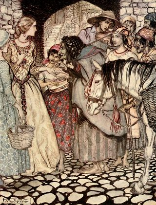 The Gypsy Laddie by Arthur Rackham