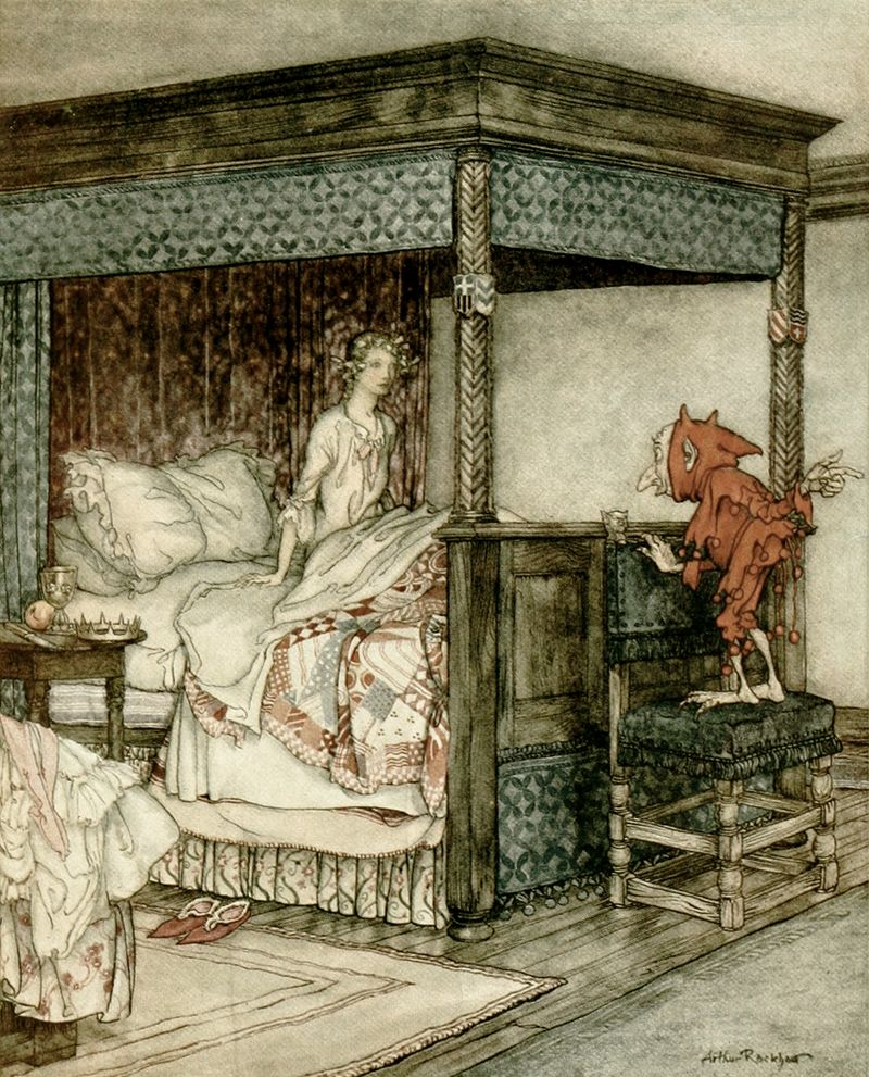 Burd Isobel by Arthur Rackham