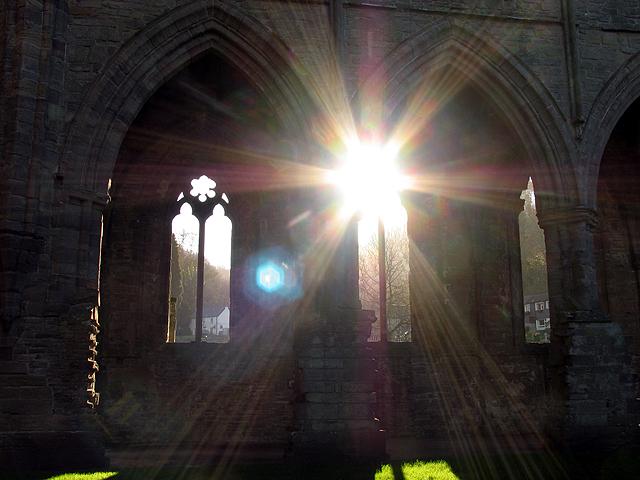 Tintern Abbey by Pam Brophy