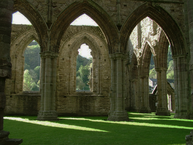 Tintern Abbey by Marion Haworth