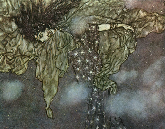 The Sleeve of Night by Edmund Dulac