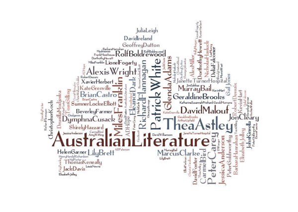 A literary map of Australia