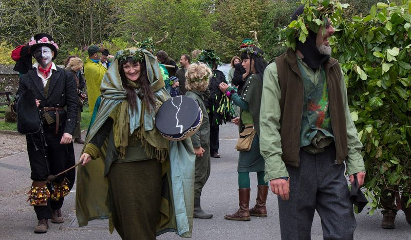 May Day in Chagford