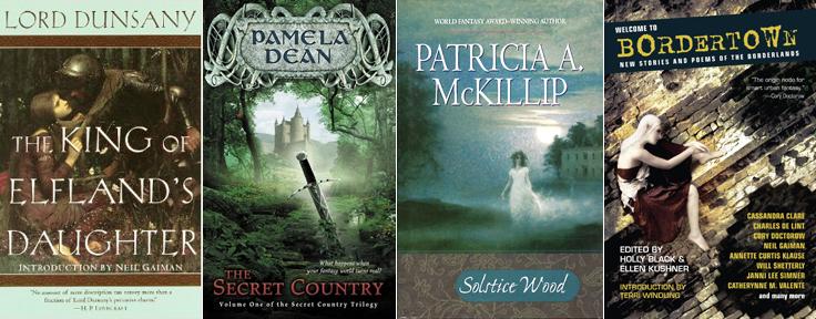 Border-crossing works of fantasy fiction