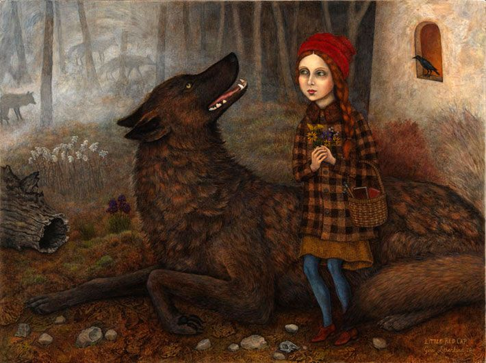 Little Red Riding Hood by Gina Litherland