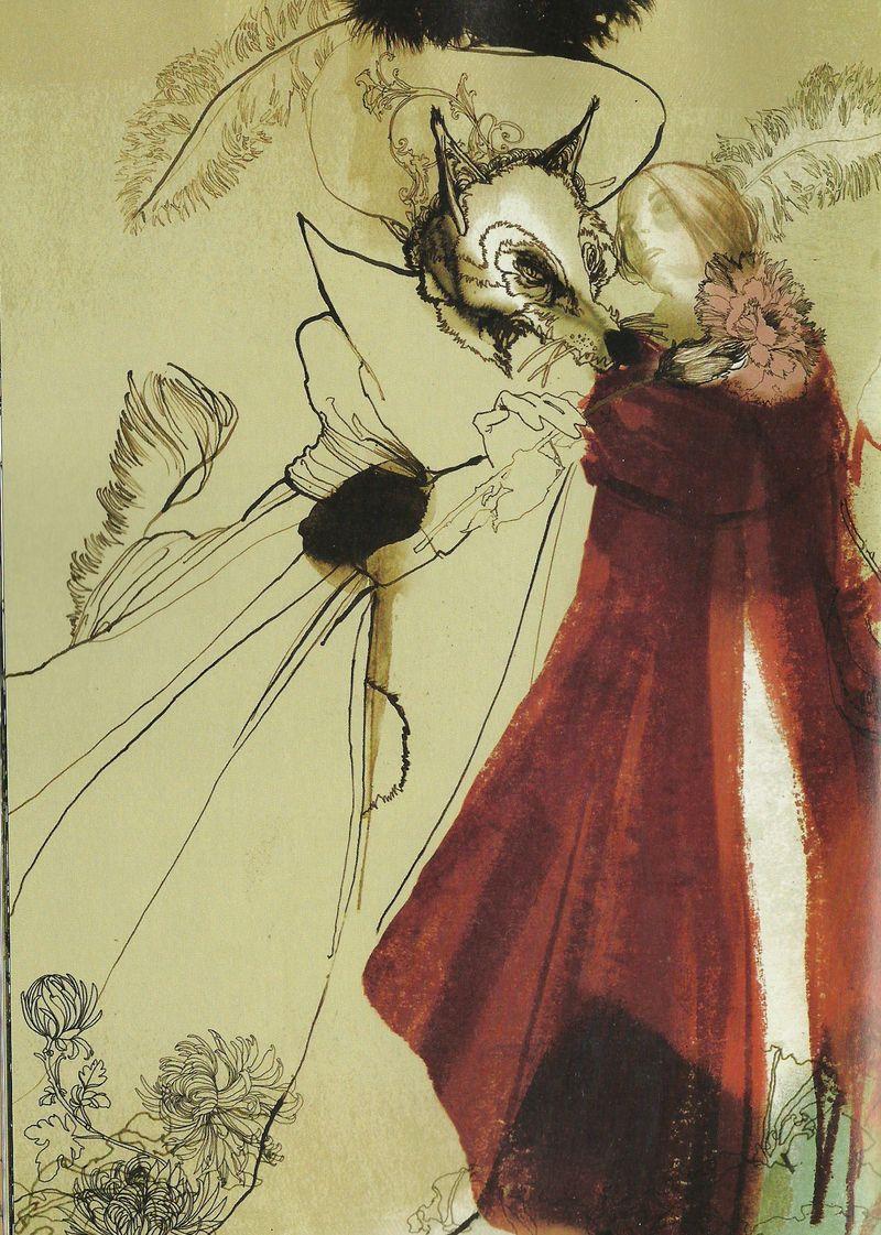 Little Red Riding Hood by Daniel Egnéus