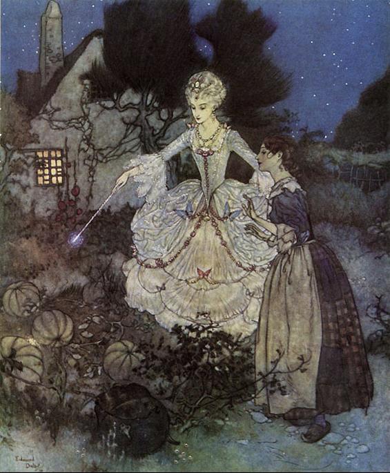 Cinderella by Edmund Dulac