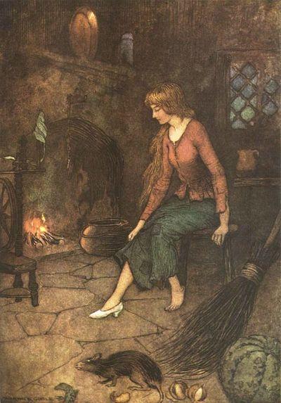 Cinderella by Warwick Goble