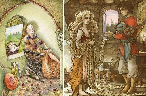 Rapunzel and the prince by Christa Unzner & Trina Schart Hyman