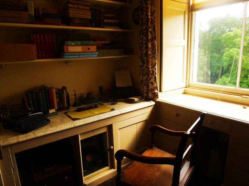 Agatha Christie's desk
