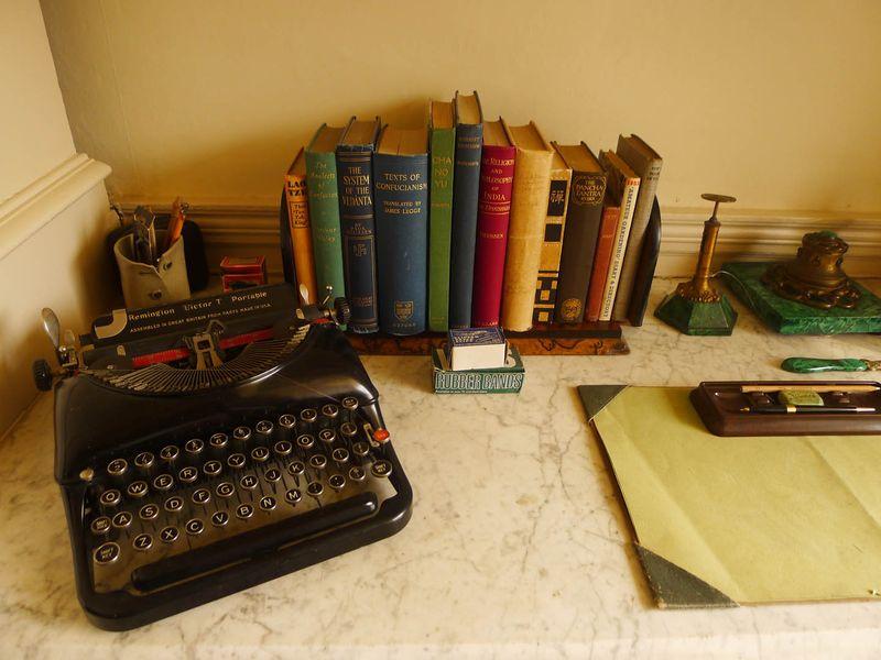 Agatha Christie's typewriter