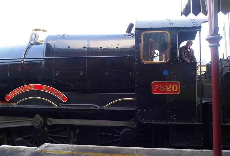 The Paignton & Dartmouth Steam Railway at Paignton Station