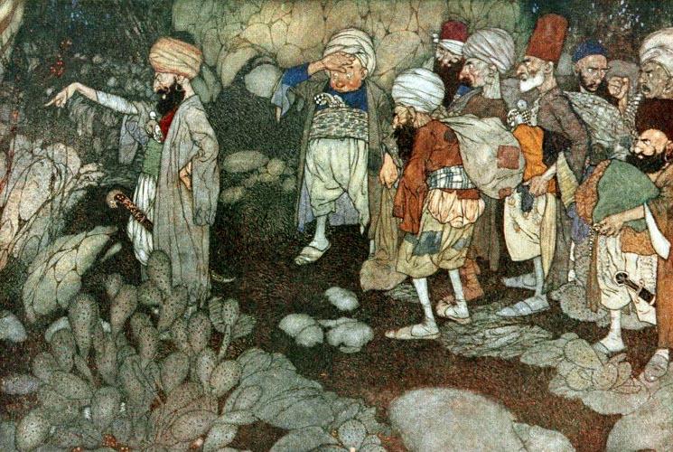 Arabian Night by Edmund Dulac