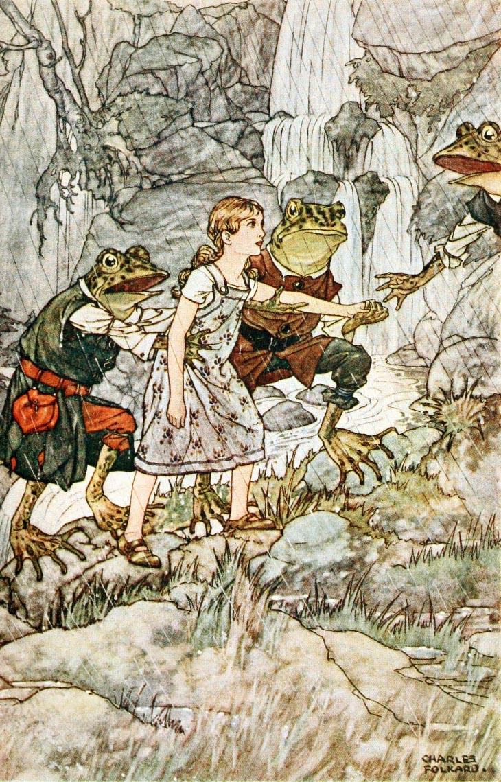 From British Fairy Tales illustrated by Charles Folkard