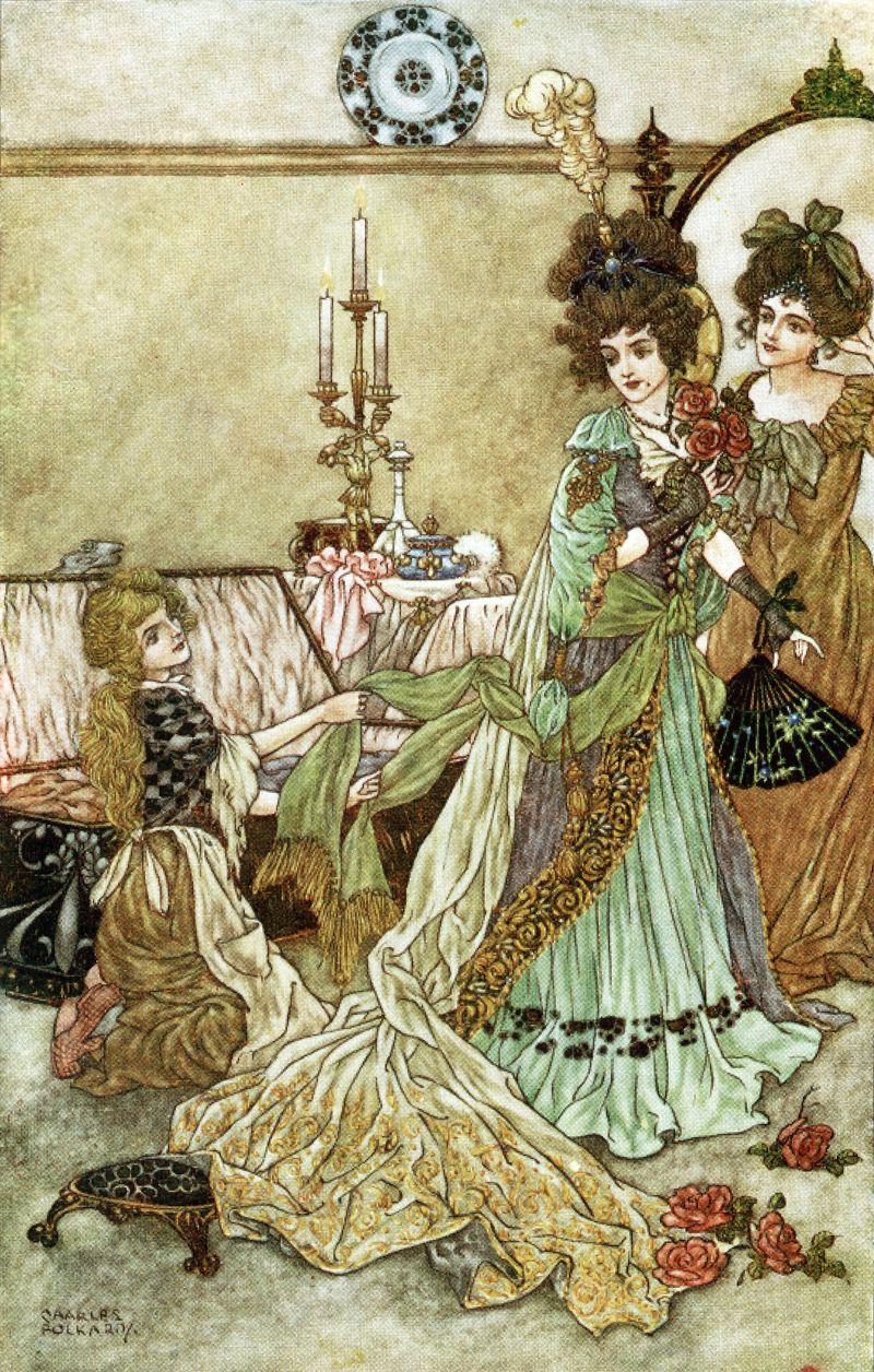 Cinderella by Charles Folkard