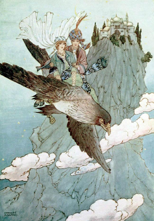 Ottoman Wonder Tales illustrated by Charles Folkard
