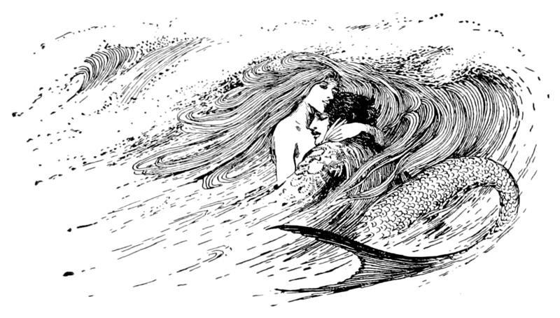 The Little Mermaid by Helen Stratton