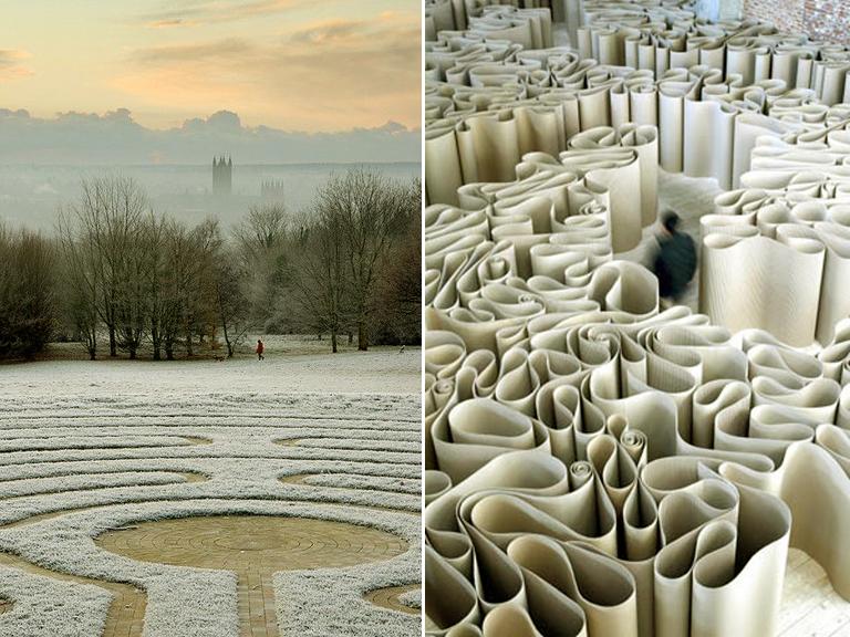 Cantebury Maze & The Labyrinth