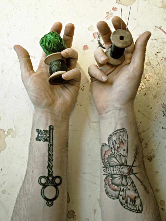 Mr. Finch, textile artist
