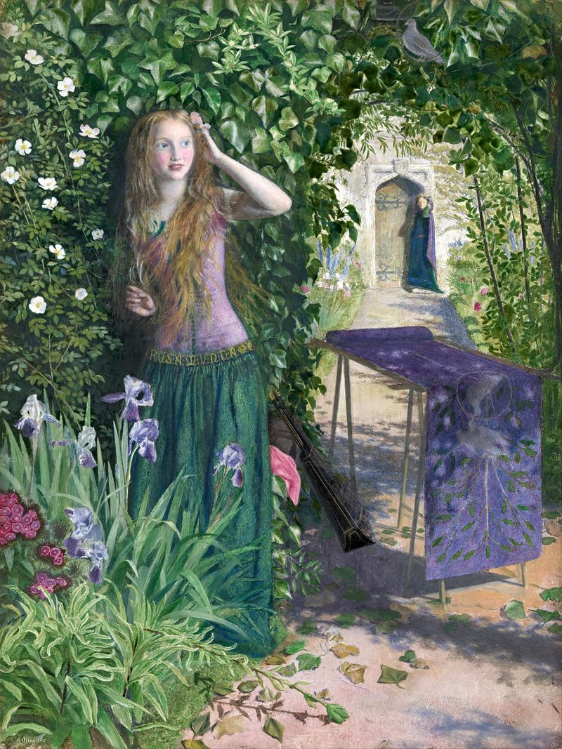Fair Rosemund by Arthur Hughes