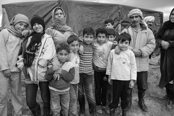 Syria refugee families, early 21st century
