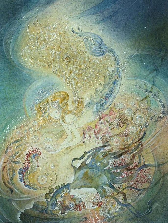 Mermaid by Marja Lee