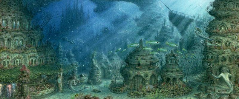 Mer Village by Virginia Lee