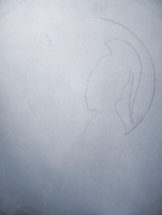Pencil drawing by Stuart Huill