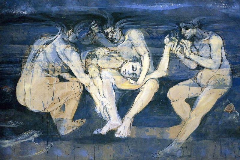 Under the Sea Three Fates by Jacqueline Morreau