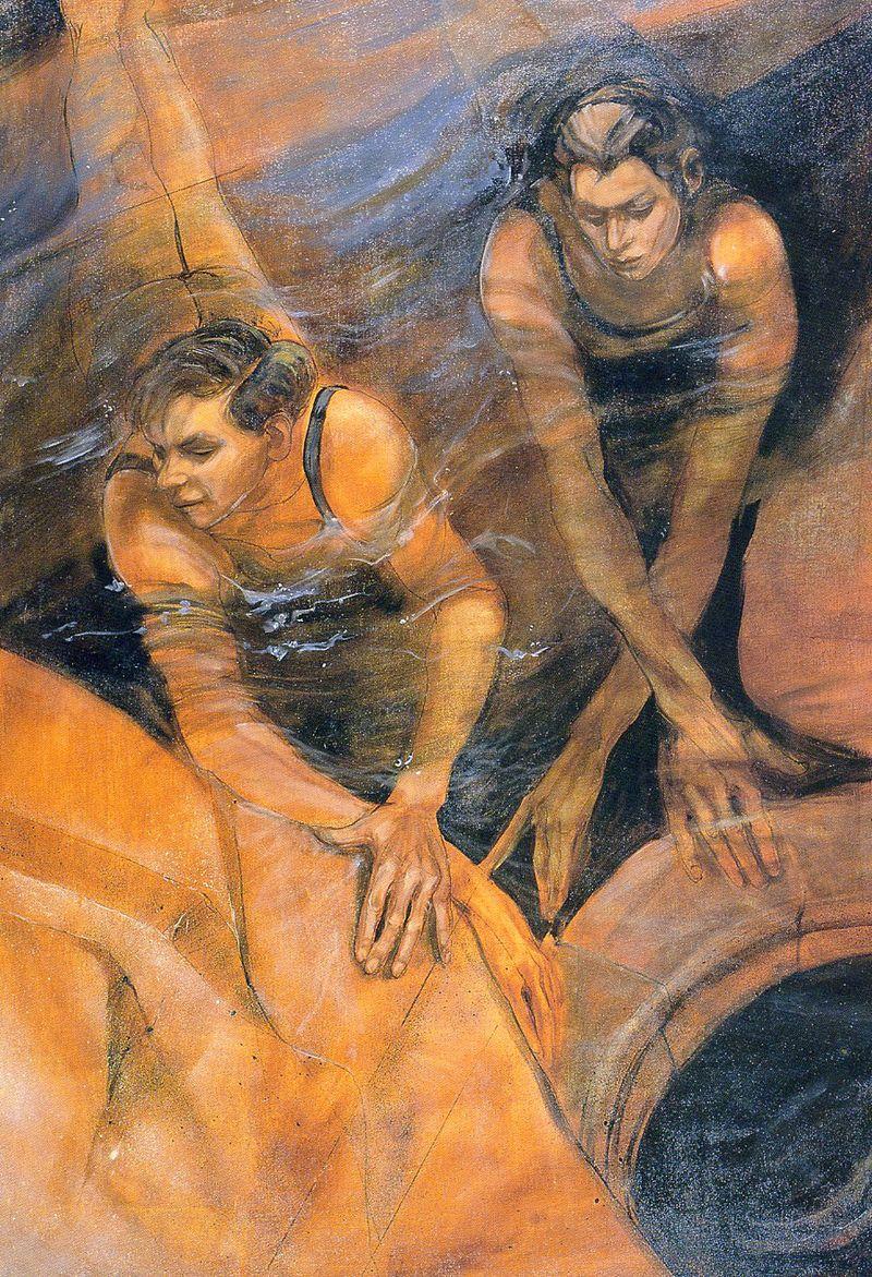 Girls in Water by Jacqueline Morreau