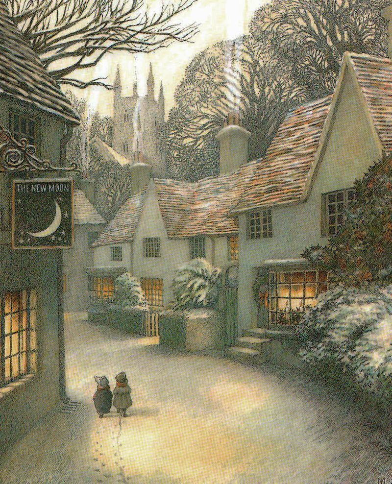Kenneth Grahame's Wind in the Willows, illustrated by Inga Moore