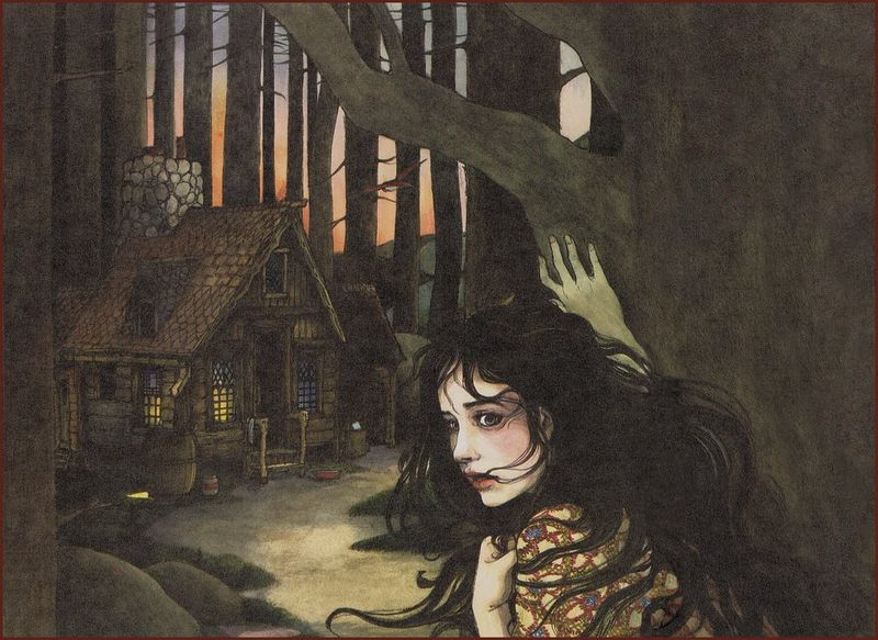 Snow White in the woods by Trina Schart Hyman