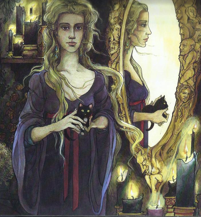 Snow White's stepmother by Trina Schart Hyman