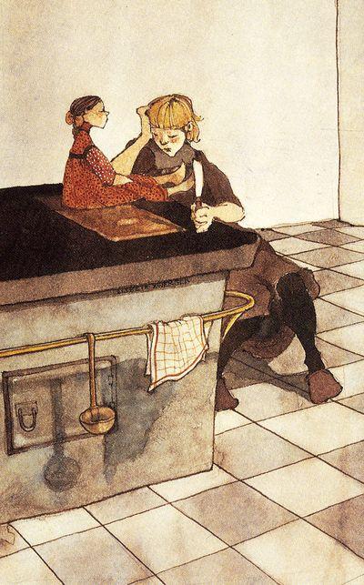 The Legend of Rosepetal by Lisbeth Zwerger