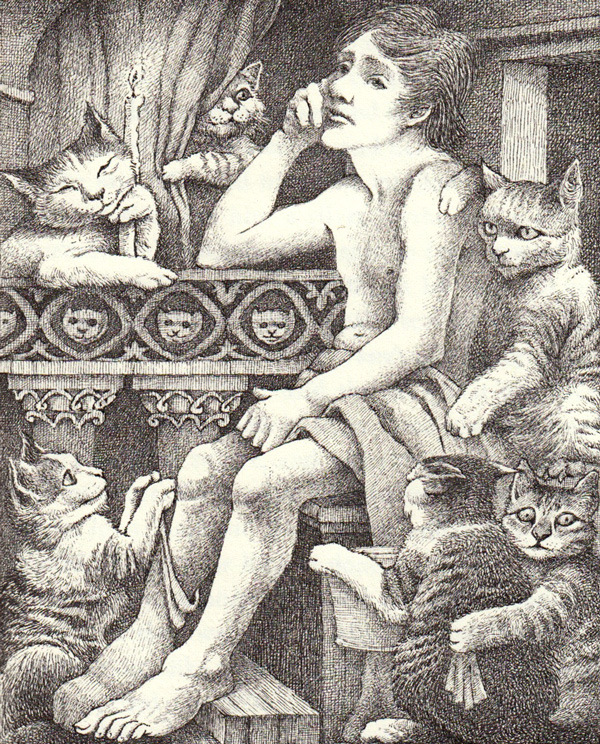 The Poor Miller's Boy and the Little Cat