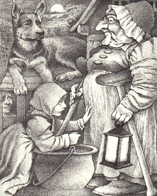 Hansel & Gretel by Maurice Sendak