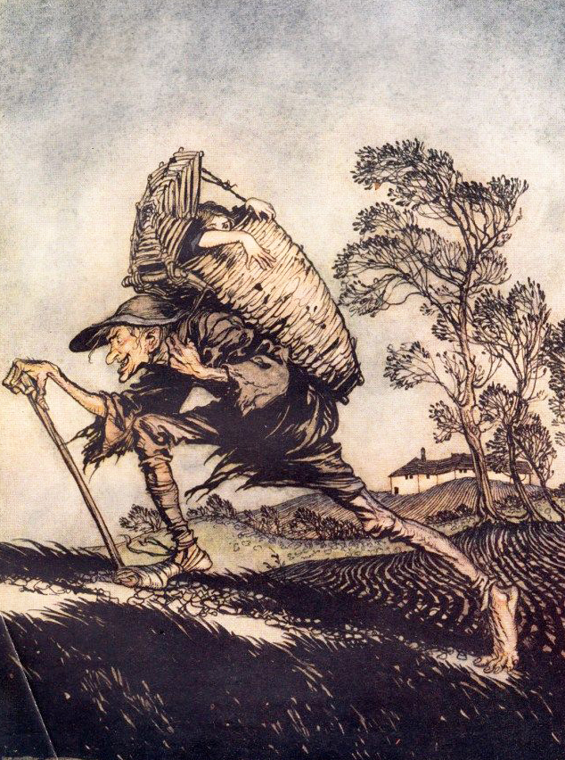 Fitcher's Bird by Arthur Rackham