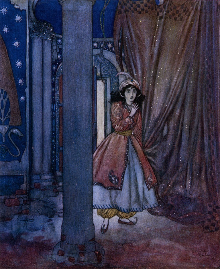 Bluebeard by Edmund Dulac