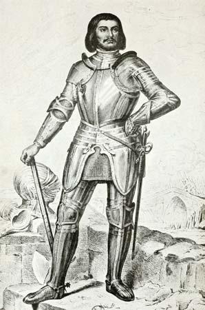 Gilles de Rais, from a painting by Éloi Firmin Féron
