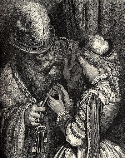 Bluebeard by Gustav Dore