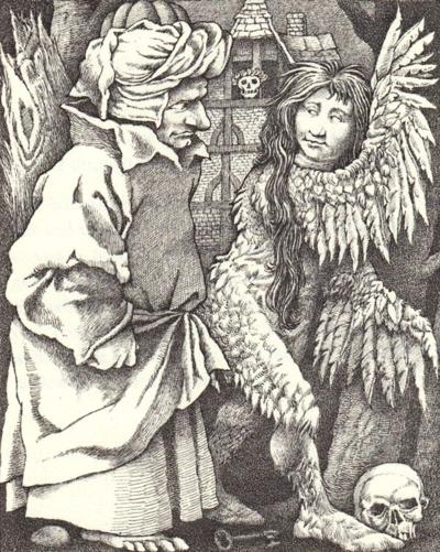 Fitcher's Bird by Maurice Sendak