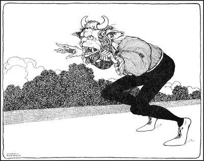 Beauty & the Beast by William Heath Robinson