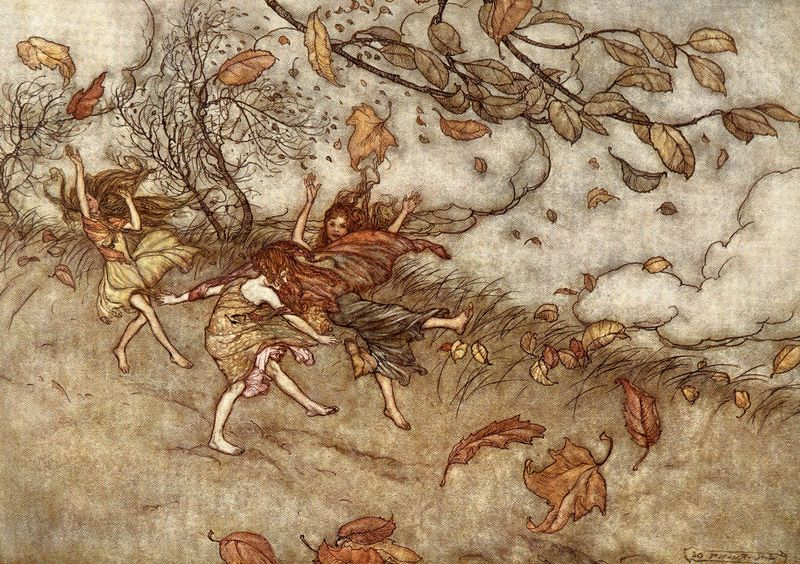 Fairies by Arthur Rackham